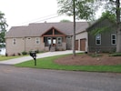 The 3000+ sq.ft. custom built vacation home, with Lake Murray in the background.