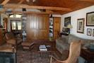Double doors house comfortable murphy bed.