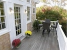 Spacious Deck off the Living Room