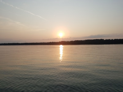Great August sunset