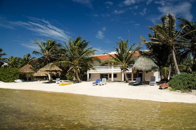 Acocote Eco Inn from the water