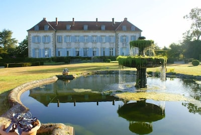 Chateau de Sannat  façade Sud.