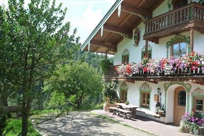 Piscine en plein air de Reit im Winkl, Reit im Winkl, Bavière, Allemagne