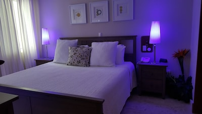 LED Color lights in the bedroom