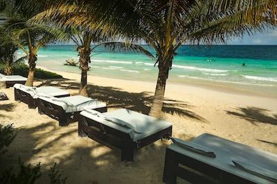 Five Beach beds