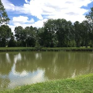 À 1 km étang pour pêcher 🐠