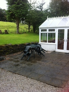 Conservatory & Garden with Patio Area