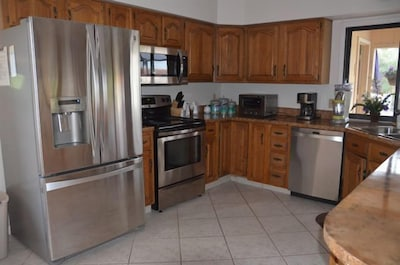 All new appliances in the kitchen
