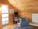 living area,door to deck