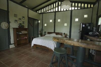 Interior of Casa Selva.