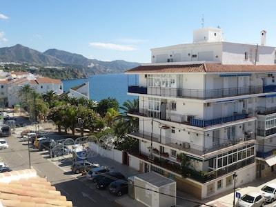 Rocamar. Location-Location-Location.  Close to the sea and the Balcon de Europa