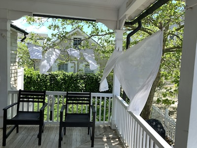 Ocean breezes dry curtains at Spring Cleaning