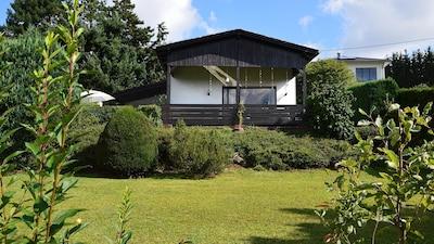 Gemütliches Ferienhaus in Reiskirchen – nahe Lich, Gießen, Burgen und viel Natur
