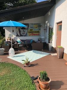 Das Wohnzimmer im Freien ...