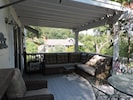 Front deck covered