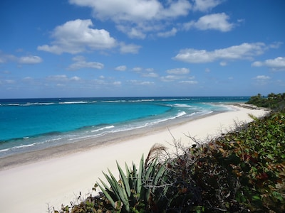 Your own private beautiful white pink sand beach...