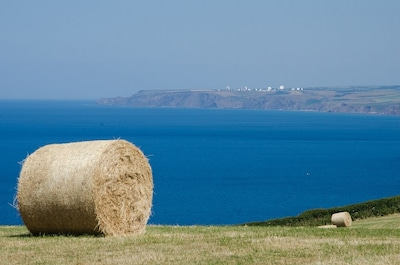 View from Cancleave over Bude Bay