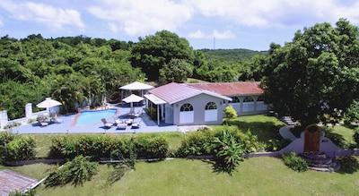 Casa Rubina in La Mina area of Vieques