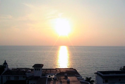 Sunset view from Private Patio