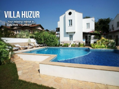 Hello and Welcome to Villa Huzur (turkish translation 'peace')