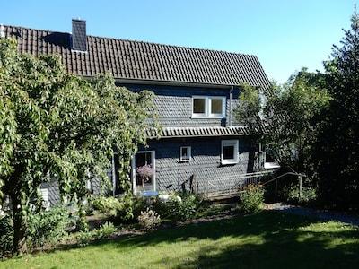 Gartenseite des Hauses