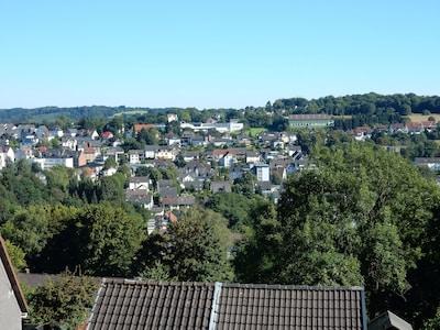 Blick über den Stadtteil Voerde