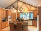 Kitchen in upper level.