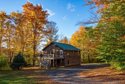 The Garagemahal in early October leafer peeper season