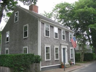 Four Gardner Street off Main Street in the town of Nantucket