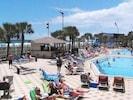 Pools and Tiki bar