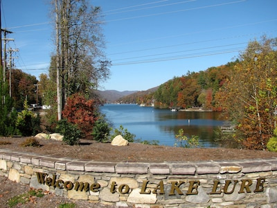 Lake Lure From Highway 9