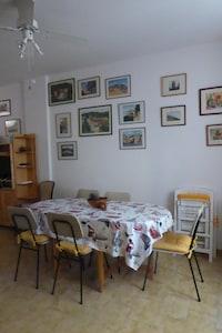 Plage de Moneglia, Moneglia, Ligurie, Italie