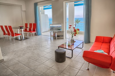 Fully Equipped 75 sqm Apartment with sea view