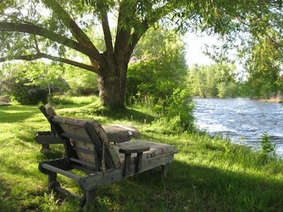 Relax and watch the river roll by