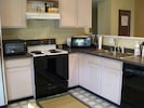 Dine-In Fully Equipped Kitchen with Wine Cooler, Coffee Pot, Microwave, etc.