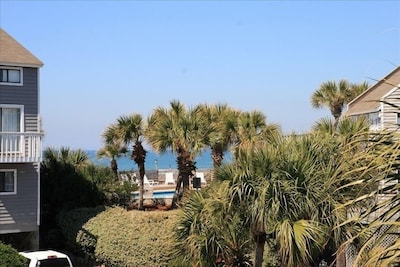 Gulf View from Master Bedroom Deck.