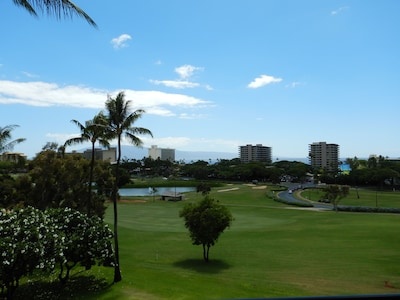 View looking West from the lanai