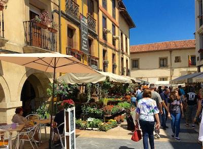 Vieille ville, Oviedo, Asturies, Espagne