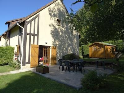 La Cour du Moulin, Houlgate, Calvados (Département), Frankreich