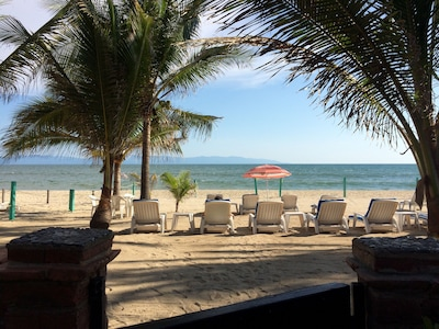 Private beach area for total relaxation Just add a good book or Margarita time!