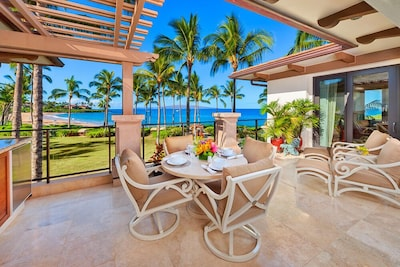 Panoramic Ocean and Beach Views, Outdoor Dining