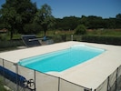 Solar Heated Pool and Terrace 12m x 5m pool.   Depth 0.5m to 1.8m