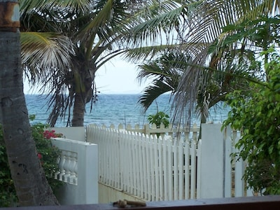 Walkway To the Beach from the front yard