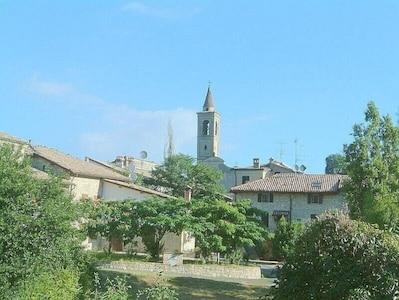 Parc provincial de Monte Moria, Morfasso, Emilie-Romagne, Italie