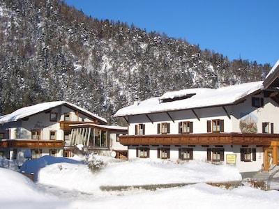Winteransicht Haus Lechner