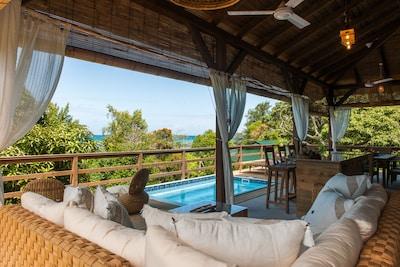 Cote D'Or Beach, Praslin Island, Baie Sainte Anne, Seychelles