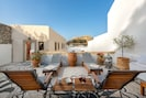 Relax on the loungers on your private terrace