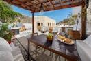 Great terrace for al fresco dining