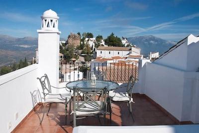 Comares, Andalousie, Espagne