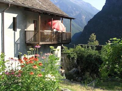 District de Vallemaggia, Canton du Tessin, Suisse